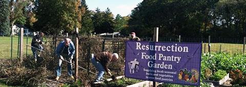 LCR Food Pantry Garden