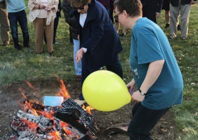 LCR Mortage Burning Celebration 3