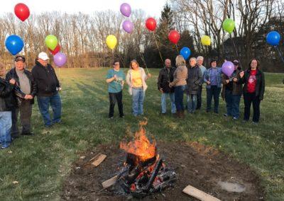 LCR Mortage Burning Celebration 6