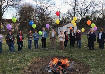 LCR Mortage Burning Celebration 7