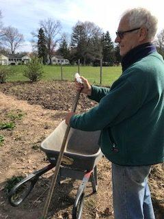Preparing LCR's garden for the season